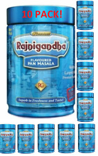 10 CANS!! 100 gram Each Rajnigandha Pan Masala Betel Nuts EXPORT QUALITY!