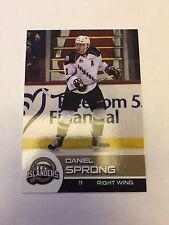 2015-16 Daniel Sprong Charlottetown Islanders Hockey Card