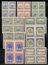 Greenland Scott #10/18 Block Set Mint Never Hinged