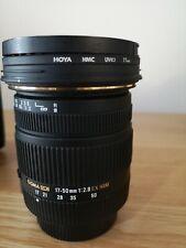 Sigma EX DC OS HSM 17-50mm f/2.8 Lens for PENTAX (excellent)