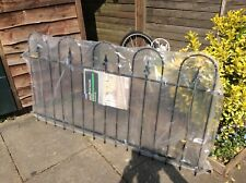 New listing Six wicks steel fencing panels. Brand new still in wrappers complete .