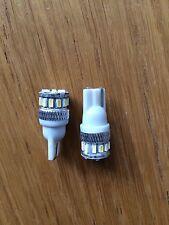 T10 W5W 18 SMD CANBUS LED LIGHTS VW AUDI BMW R1200GS S1000RR  bulbs x 2