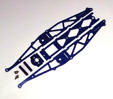 Xtreme Racing G10 Blue Fiberglass 1/24 Slot Car Drag Chassis Xtr20021 Bracket
