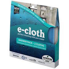 E-cloth douche et le polissage chiffon Pack avec aspiration Crochet - 2 torchons-FREE P&P