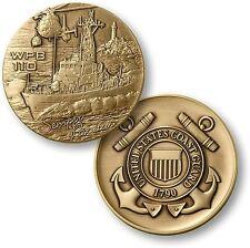 USCG WPB 110 Challenge Coin US Coast Guard Island Class Coastal Patrol Boat ft