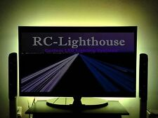 "TV Back Light- Television LED Light Strips in Amber  60"" inches of LEDs"