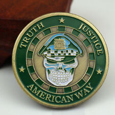American Way Truth Justice Chicago Police Department Challenge Coin Collectible