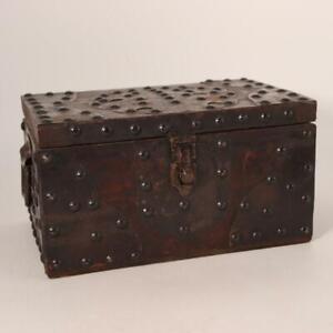 Japanese wooden Tansu box studs Funa dansu WBX73