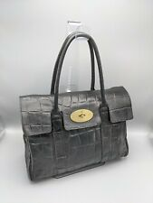 Mulberry Heritage Bayswater Bag in Black Congo Leather