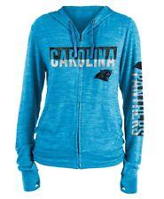 "Carolina Panthers Women's New Era NFL ""Fumble"" Space Dye Hooded Sweatshirt"