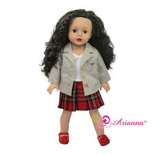 Studious Me Back to School Uniform Jacket Fits American Girl 18 inch Doll