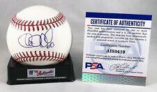 Atlanta Braves William Contreras Signed Authentic MLB Baseball PSA/DNA COA