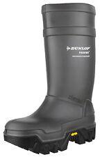 Dunlop Mens Grey Purofort Explorer C922033.05 Full Safety Wellington BOOTS 44