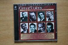 Various - Great Voices of Yesterday - Enrico Caruso, Ezio Pinza (Box C97)