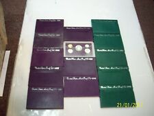 1984-1998 UNITED STATES PROOF SETS  14 TOTAL
