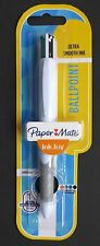 Paper Mate INKJOY 4 Colour QUATRO Ballpoint Pen Black Blue Red Green 1.0mm Tip