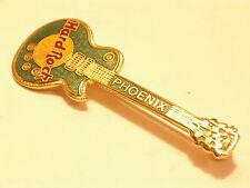 "Phoenix B16-244 Green Lesa Paul guitar 3LC ""G.C.I."" Large Grid HRC enamel pin"