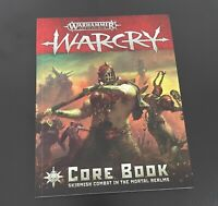 Warcry Core Book Rulebook *New* Warhammer Age of Sigmar Mortal Realms