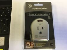 GE Surge Protector  1 AC Outlet monitor light with 327 Joules , grounded