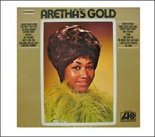 Mini  'Aretha Frankin - ARETHA'S GOLD' record album Dollhouse BARBIE  KEN 1/6
