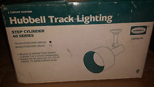 Hubbell Head White Finish for Ceiling Wall Track Light System