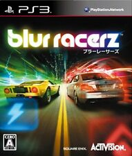 PS3 Blur Racerz Japan Import Official Free Shipping F/S