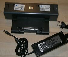 HP Compaq Docking Station nw9440 nw8440 nx9420 nx8420 mit Netzteil Ac Adapter