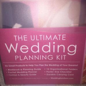 The Ultimate Wedding Planning Kit Workbook, 12 Folders, Pocket Planner,