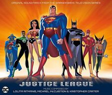 JUSTICE LEAGUE TV SERIES La-La Land 4-CD Boxed Set SOUNDTRACK Score Ltd Ed NEW!