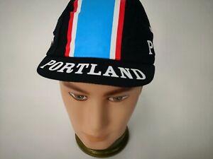 PORTLAND BIKE GALLERY PACE WEAR Wicking BLACK Team Cycling Cap Bike Hat