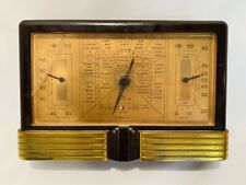 Art Deco TAYLOR Instruments Temperature and Humidity Weather Station