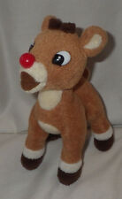 Rudolph Red Nosed Reindeer Ornament Plush Stuffed Animal Bean Bag Christmas 6""