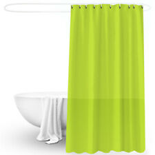 Solid Color PEVA Shower Curtain Waterproof Bathroom Hot Wild Anti mold Curtains
