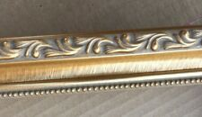 """1 1/4"""" Classic Gold Picture Frame Moulding 18ft of Molding"""