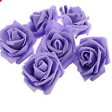 10-500pcs 6cm PE Foam Roses Artificial Flower DIY Wedding Bride Bouquet Party