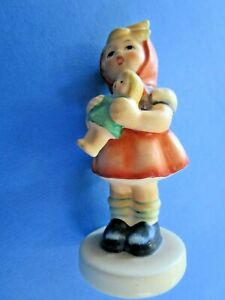 "Goebel West Germany medium  Size Hummel  Girl, ""Girl with Doll "" Figurine"