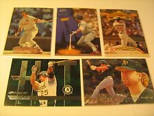 Lot of 5 Cards 1980's 90's MARK McGWIRE Donruss FLEER Sports Illustrated [c3c3]