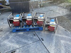 honda 2.7 Kva Petrol Generator Gx160 Good Working Order 110 And 240 Volt
