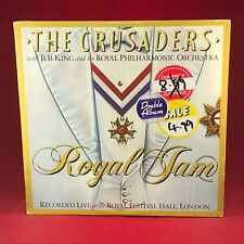 THE CRUSADERS with B. B. KING  Royal Jam live 1982 UK VINYL LP EXCELLENT COND  B