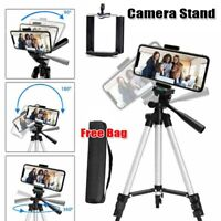 Professional Camera Tripod Stand Holder Mount for iPhone Samsung Smart Phone