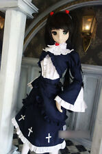 1/3 BJD dollfie dream DDL/DDM girl doll Black Cat Cosplay Dress SEN-75DL ship US