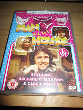 MAN ABOUT THE HOUSE -THE COMPLETE SERIES - 6 DISC DVD SET - 975 MINUTES - SEALED