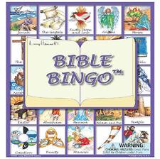 Bible Bingo Board Game, Toys Kids Church Educational Stories Cards NIB