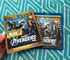 The Avengers Blu-ray 3D~ DVD + Digital 4-Disc Set w Lenticular Slipcover Marvel