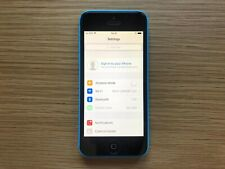 Apple iPhone 5C - 16GB - Blue (A1507) Faulty Date & Time - Unlocked