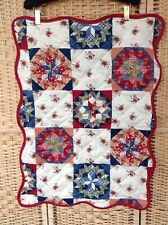 RINGLEY Home Collection Patchwork Large Pillow case Scalloped Edge Floral BNWOT