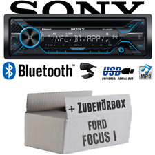 Sony Radio para Ford Focus 1 Bluetooth CD/Mp3/USB Autoradio - Set Montaje