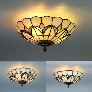 Tiffany Style Light Shade In Ceiling Lights Chandeliers For Sale Ebay