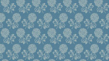Blossom Heads cotton fabric Blue Sky Coll. Size 55 cm x 50 cm larger available