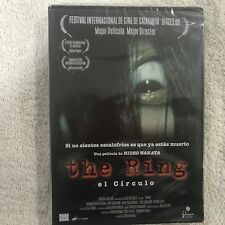 THE RING EL CIRCULO HIDEO NAKATA TERROR DVD
